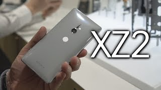 Sony Xperia XZ2 Hands-On: A new shine