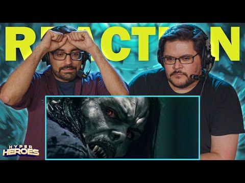 Morbius - Official Teaser Trailer Reaction