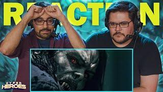 Morbius - Official Teąser Trailer Reaction