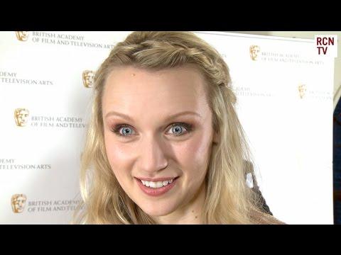Emily Berrington  Humans & BAFTA TV Awards 2016