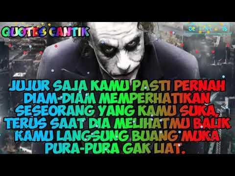 By Quotes Cantik Kata Kata Jomblo Versi Joker Keren Abis
