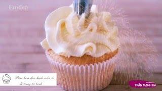 Hướng dẫn làm bánh cupcake đơn giản tại nhà