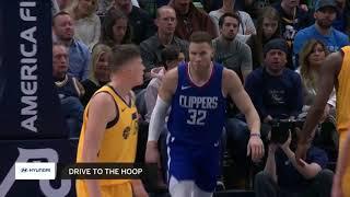 Clippers vs. Utah Jazz Full Highlights   1-20-18
