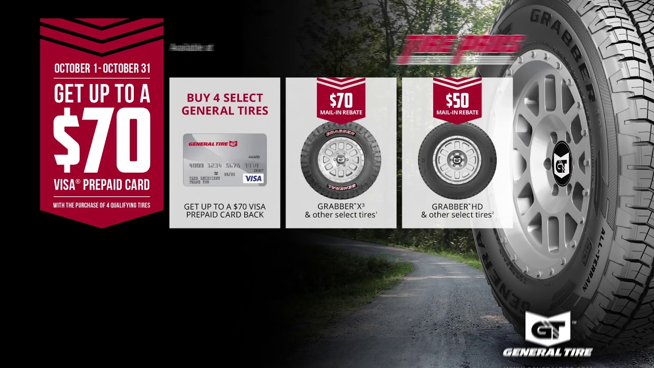Settle Tire Pros General Tire Rebate Fall 2017 Youtube
