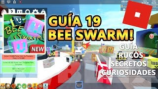 Bee Swarm Simulator, CODES + BADGES, Cómo Conseguir LEGENDARIAS, Roblox Español Guía Tutorial 19