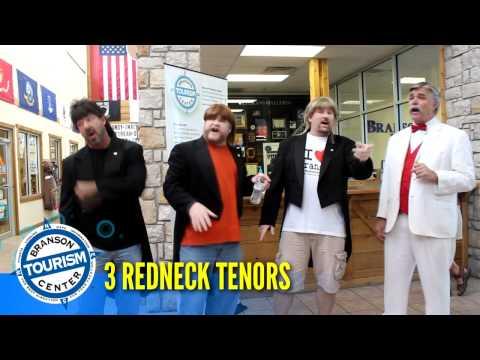 3 Redneck Tenors from Americas Got Talent in Branson Tourism Center