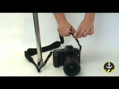 caad39808e8 PacSafe CarrySafe 100 Anti-Theft Camera Strap - YouTube