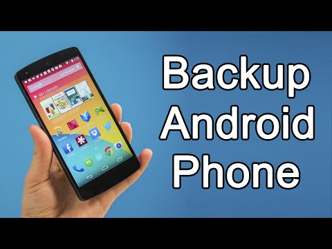 How to Backup Android Phone 2016 [COMPLETE Backup]