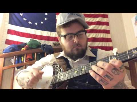 Lee Hammons' Old Christmas Morning, clawhammer banjo