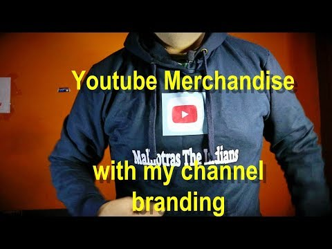 Youtube merchandise with my  channel branding and robotic kitchen, India