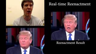 Face2Face: Real-time Face Capture and Reenactment of RGB Videos (CVPR 2016 Oral)(CVPR 2016 Paper Video (Oral) Project Page: http://www.graphics.stanford.edu/~niessner/thies2016face.html IMPORTANT NOTE: This demo video is purely ..., 2016-03-17T22:00:14.000Z)