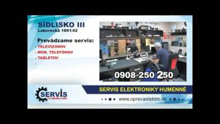 Opravy elektroniky Humennné