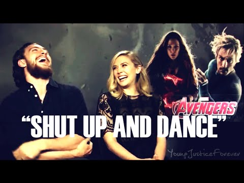 ✔ Aaron Taylor-Johnson HUMOR ll 【Shut Up and Dance】