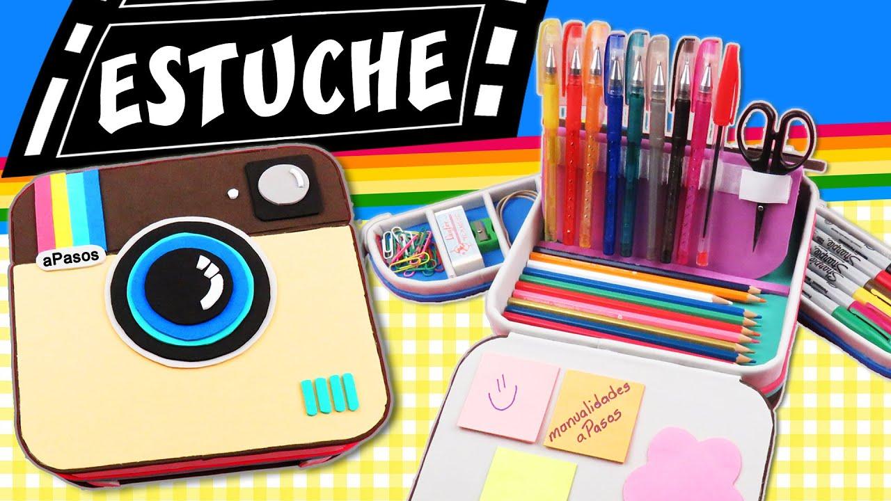 Estuche Para L 193 Pices C 225 Mara Polaroid Lapicera Youtube