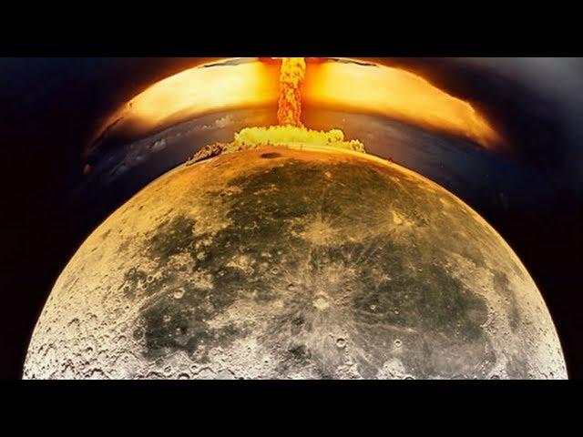 Что будет если на луну упадёт метеорит?