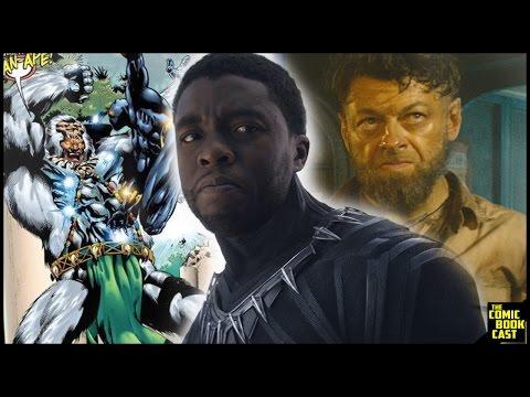 Black Panther Casts ManApe & Klaw Confirmed