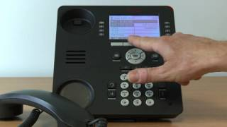 19. Avaya Telephone System - Conference Calling on the 9608