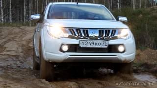 Новый Mitsubishi L200 тест-драйв г.Ярославль(Видео к статье