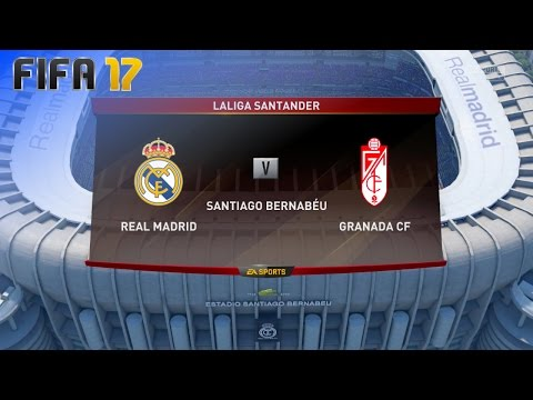 FIFA 17 - Real Madrid vs. Granada CF @ Estadio Santiago Bernabéu