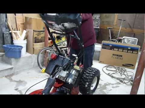 Troy-Bilt MTD Storm 2620 Snowblower Auger Gear Repair ...