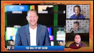NBA Picks and Predictions | WagerTalk's NBA Tip-Off Show for Tuesday, January 12