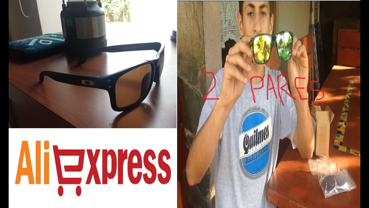 b879b97891d7d Unboxing OAKLEY Sunglasses Gafas ALIEXPRESS (2 Pares) - YouTube