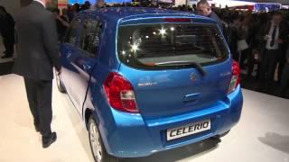 Suzuki Celerio at Geneva Auto Show 2014