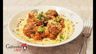 Spaghete cu Chiftele Vegetariene - Reteta de Post