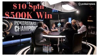Final Table Preview: Turn Ten Dollars into Half a Million?