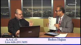 Bedros Hajian Special program on August 19,  2015