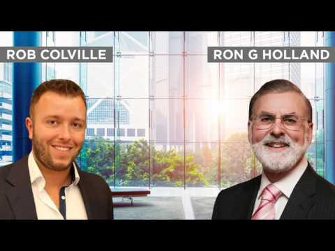 How to Become a Millionaire - Ron G Holland Interview by Rob Colville - The Lazy Trader