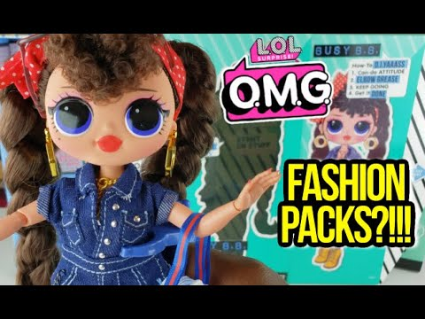 Unboxing  LOL Surprise OMG Series 2 Fashion Doll Busy B.B.