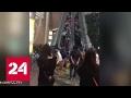 Гонконгский эскалатор ранил 17 человек