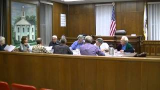 Stark County Board Special Meeting, Oct. 27, 2015