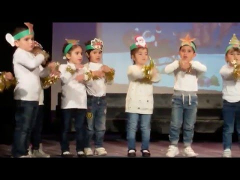 Christmas Concert We Clap Our Hands Together