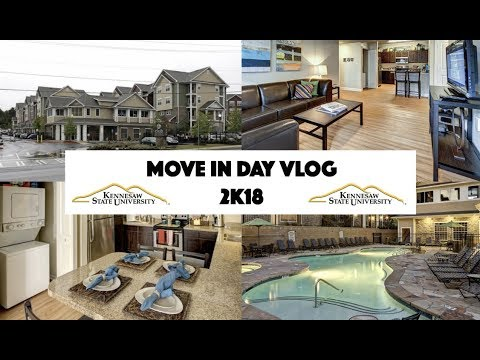 Move In Day Vlog 2018 | Kennesaw State University
