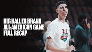 LaMelo Ball Closes Out Senior Season at Big Baller Brand All-American Game - Full Highlights