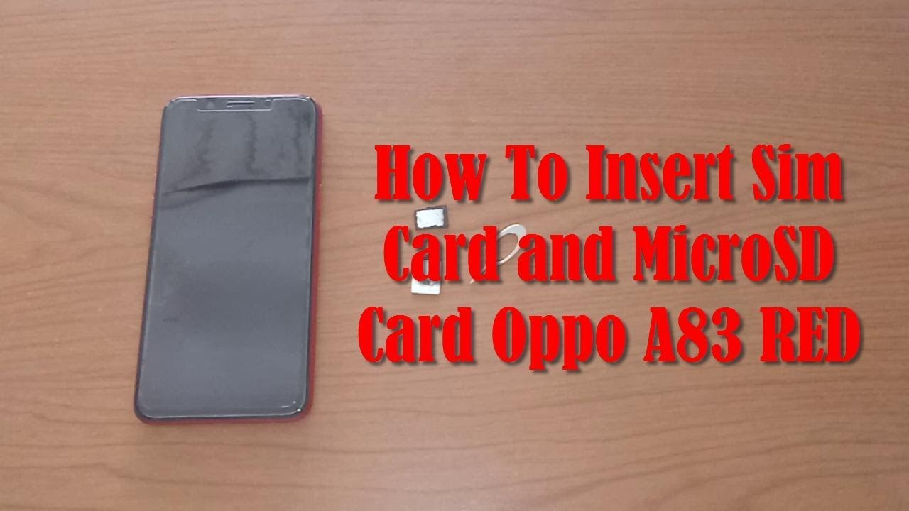 Oppo A83 SIM Videos - Waoweo