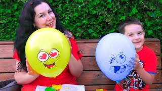 Balloon song | Nursery Rhymes & Kids Songs by Nart JJ