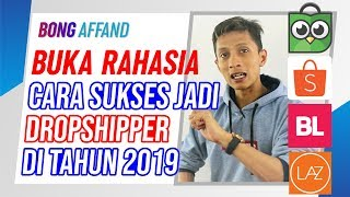 CARA SUKSES DROPSHIP DI MARKETPLACE | DROPSHIPPER | RESELLER | BISNIS ONLINE | DIGITAL MARKETING