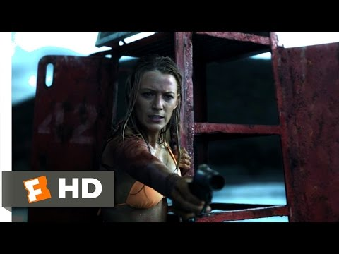 The Shallows (9/10) Movie CLIP - Fighting with Fire (2016) HD