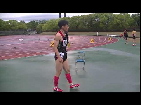 2019年5月1日大阪マスターズ選手権 400mスタート前の緊張