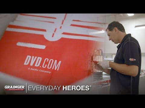 Netflix DVD Warehouse Manager | Grainger Everyday Heroes
