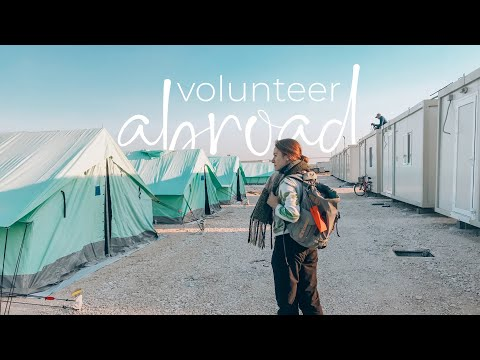 How to Volunteer Abroad (For Free!) 🤝🌍 | Teaching English in a Refugee Camp in Greece