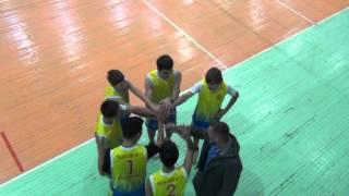 Городские соревнования, волейбол Школа №17, Иркутск 06.02.16 со школой №40 3_2-я партия