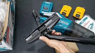Khuyến mãi Máy hút bụi dùng pin 20v TOTAL / Giá 1.160.000đ (1 Pin INGCO, 1 Sạc)