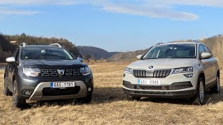 New Dacia Duster vs Škoda Karoq 2018 | Walkaround