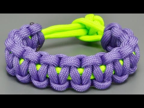 How To Make Basic Co Paracord Celet Without Buckles