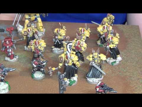 Macleods Mordant Miniatures >> Warhammer 40 000 True Scale Imperial Fists Space Marines Worthy Painting
