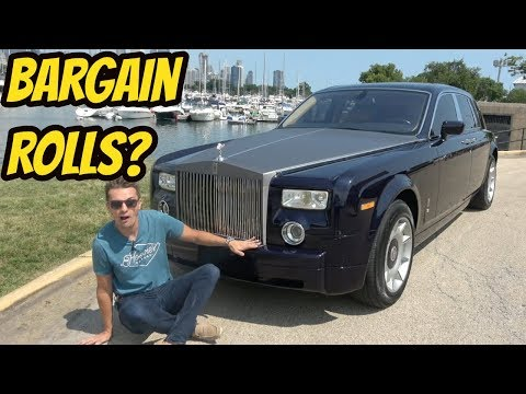 I Bought The Cheapest Rolls Royce Phantom In The USA